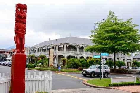 Centre-ville de Rotorua - Nouvelle Zélande -