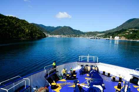Traversée en ferry entre Wellington et Picton - Nouvelle Zélande -