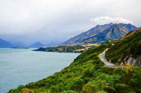Lac Wakatipu - Nouvelle Zélande -