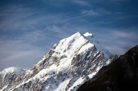 Mont Cook (3754 m), sommet de Nouvelle Zélande -