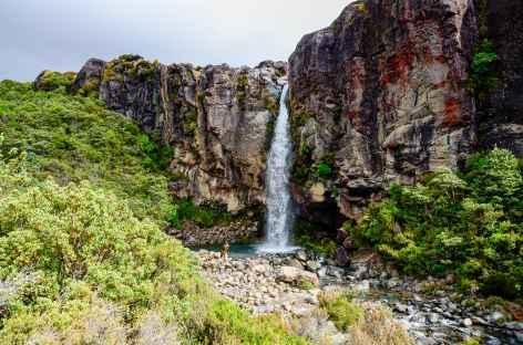 Taranaki Falls, massif du Tongariro - Nouvelle Zélande -