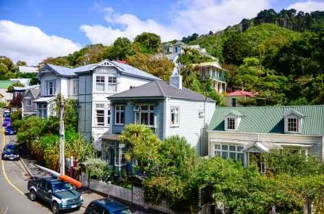Vieilles demeures victoriennes de Wellington - Nouvelle Zélande -