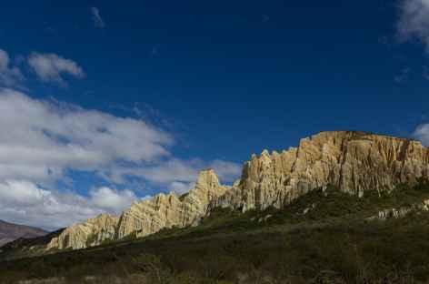 Formations d'argiles de Clay Cliffs, vers Omarama - Nouvelle Zélande -