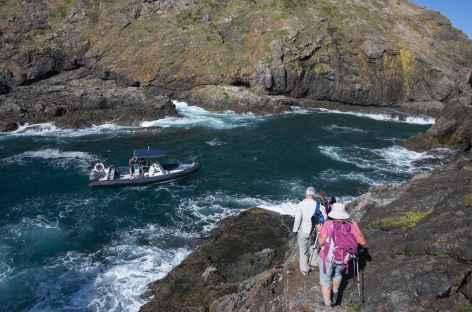 A l'extrémité du Cape Brett - Nouvelle Zélande -