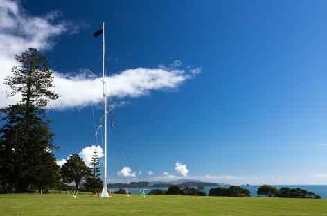 Site où fut singé le traité de Waitangi - Nouvelle Zélande -