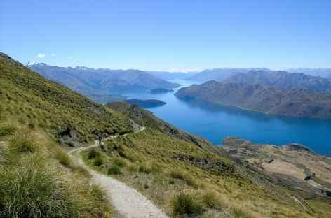 Montée à Roys Peak - Nouvelle Zélande -
