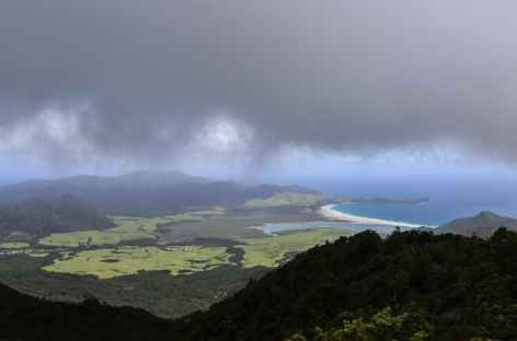 Panorama depuis Mt Hobson, Great Barrier Island - Nouvelle Zélande -
