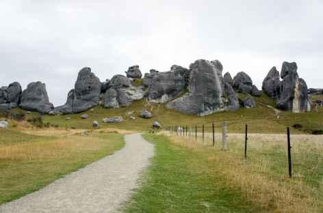 Etonnantes formations rocheuses de Castle Hill - Nouvelle Zélande -