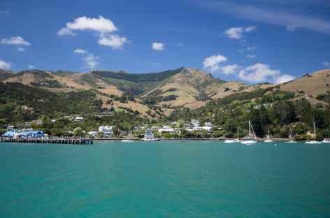 Port d'Akaroa, péninsule de Banks - Nouvelle Zélande -