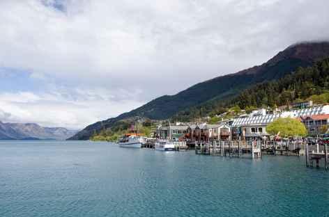 Queenstown sur les rives du lac Pukaki - Nouvelle Zélande -
