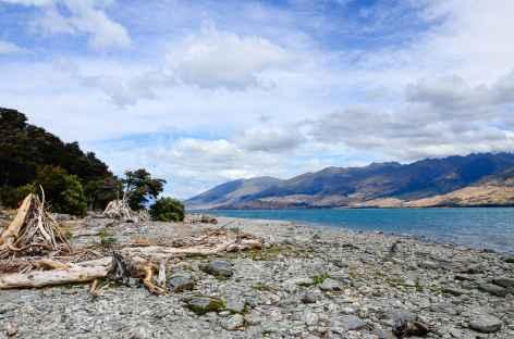 Sur les rivages du lac Wanaka - Nouvelle Zélande -