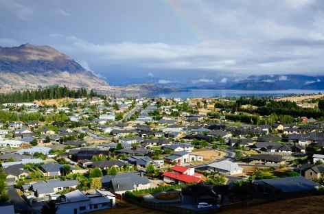 Sur les hauteurs de la ville de Wanaka - Nouvelle Zélande -