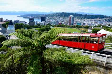 Cable car de Wellington - Nouvelle Zélande -