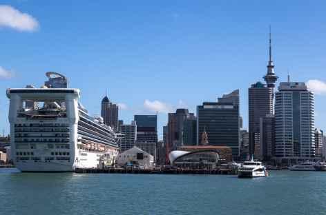 Départ d'Auckland - Nouvelle Zélande -