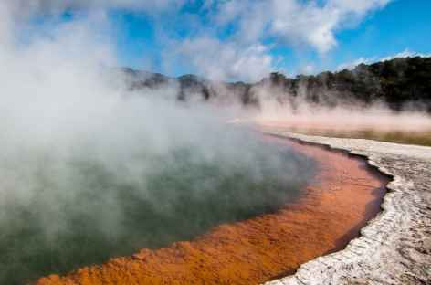 Wai-o-Tapu, Champagne Pool - Nouvelle Zélande -