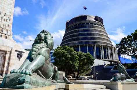 Wellington, siège du Parlement - Nouvelle Zélande -
