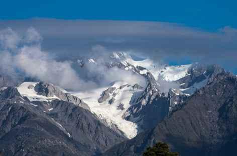 Lever du jour sur le massif du Mt Cook - Nouvelle Zélande -