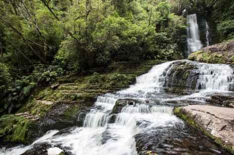 Mc Lean Falls, côte des Catlins - Nouvelle Zélande -