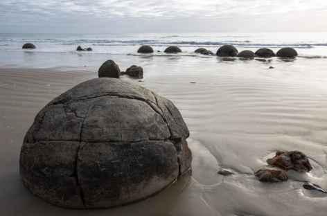 Moeraki Boulders - Nouvelle Zélande -