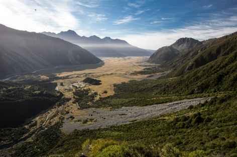 Vallée de Mt Cook Village - Nouvelle Zélande -
