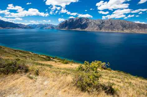 Le lac Hawea - Nouvelle Zélande -