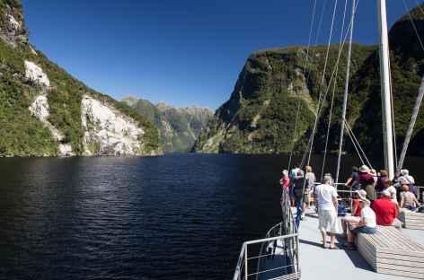 A bord du Fjordland Navigator - Nouvelle Zélande -