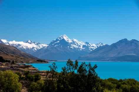 Le massif du Mt Cook, depuis Peter's Lookout - Nouvelle Zélande -