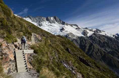 Sentier de Sealy Tarns - Nouvelle Zélande -