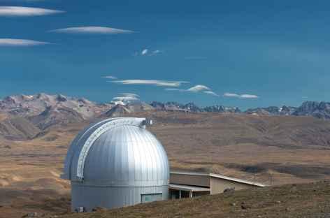 Observatoire au sommet du Mt John - Nouvelle Zélande -