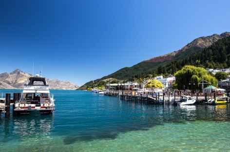 Le lac Wakatipu et Queenstown - Nouvelle Zélande -