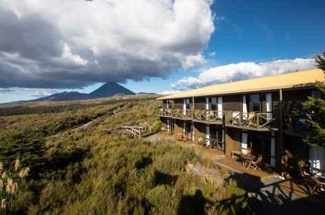 Le Skotel et le Mt Ngauruhoe - Nouvelle Zélande -