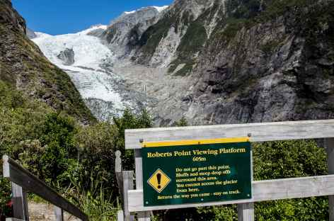 Robert's Point et le glacier de Franz Josef - Nouvelle Zélande -
