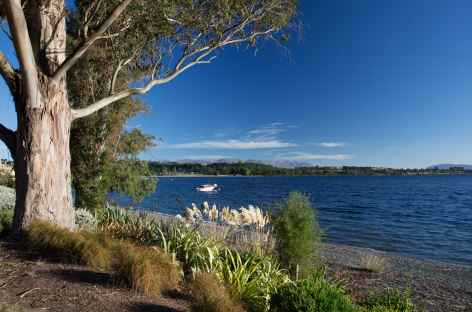 Sur les rives du lac de Te Anau - Nouvelle Zélande -