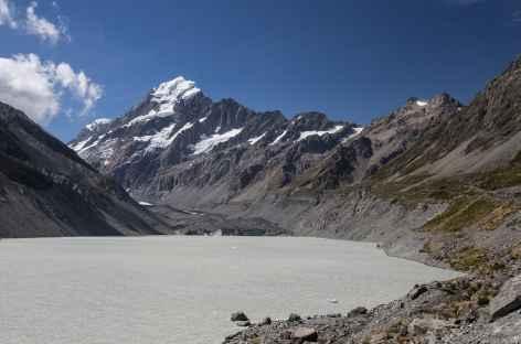 Hooker Glacier Lake - Nouvelle Zélande -