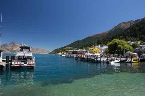 Lac Wakatipu à Queenstown - Nouvelle Zélande -