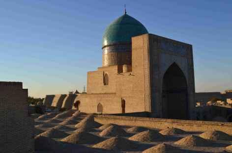 Coucher de soleil sur Boukhara - Ouzbékistan -