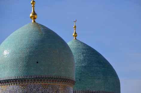 Coupôles turquoises, Ouzbékistan -