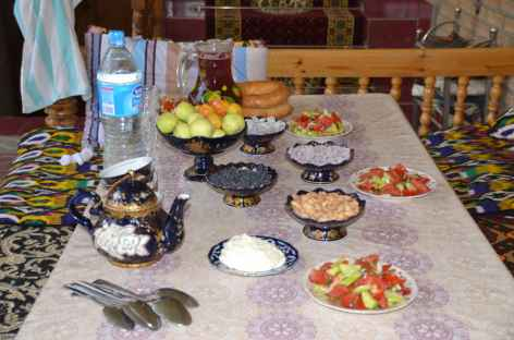 Accueil ouzbek -