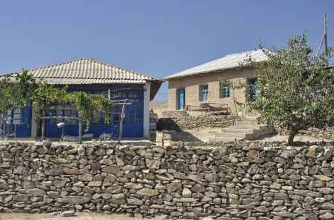 Le village de Sentob - Ouzbékistan -