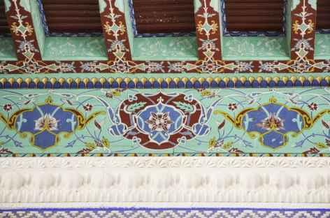 Détails à la mosquée Norboutabey - Ouzbékistan -