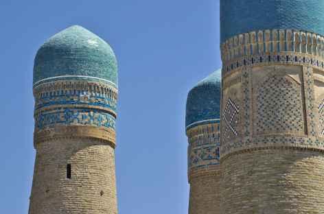 Chor Minor, ou quatre minaret à Boukhara - OUzbékistan -