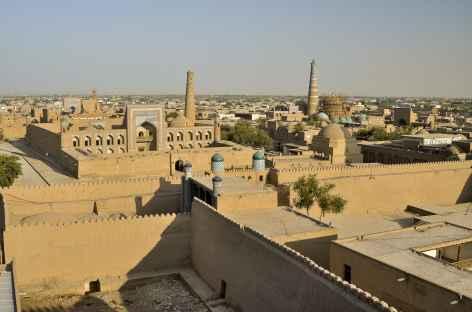 Vue panoramique sur la ville ancienne de Khiva - Ouzbékistan -