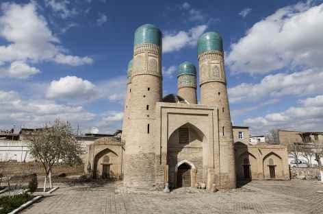 Chor Minor, monument emblématique de Boukhara - Ouzbékistan -