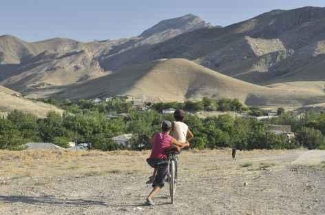Arrivée dans la vallée de Sob - Ouzbékistan -