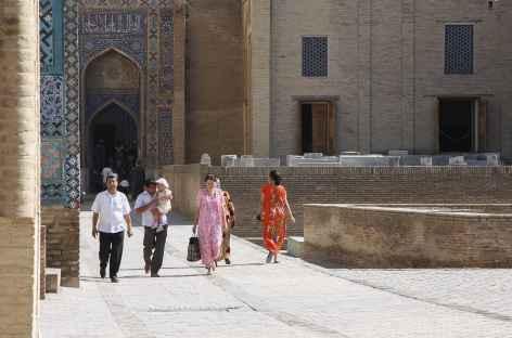 VIsite des hauts-lieux de Samarcande - Ouzbékistan -