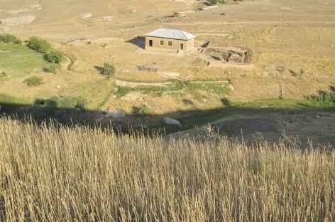 Ambiance rurale dans les montagnes proches de Samarcande - Ouzbékistan -