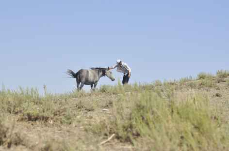 Rencontre au col - Ouzbékistan -