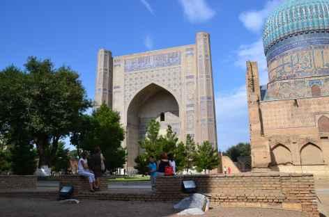 Mosquée Bibi Khanum, Samarcande -
