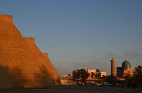 Coucher de soleil sur l'Ark, Boukhara -