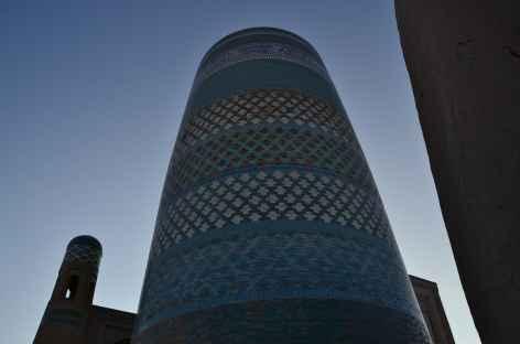 Minaret bleuté, Khiva -